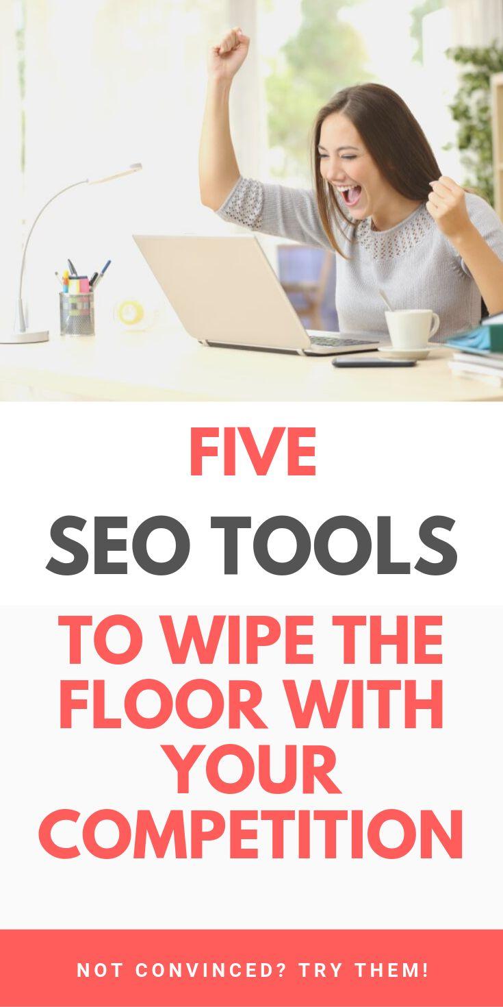 5 SEO Marketing & Research Tools, um den Boden mit Ihrer Konkurrenz abzuwischen