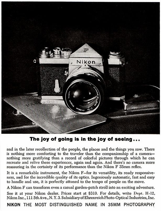 Nikon F - A Classic...