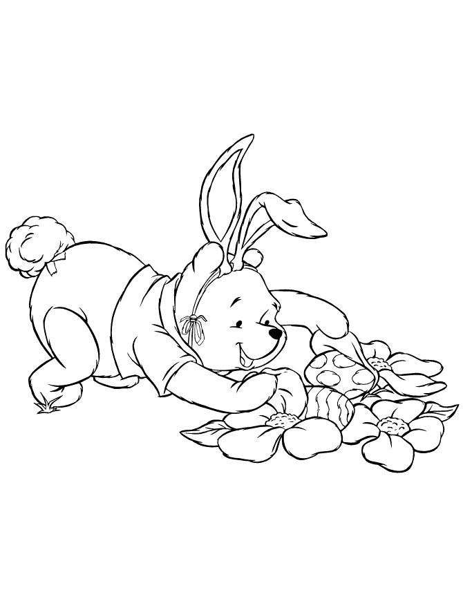 winnie_the_pooh_easter_holiday_coloring_page
