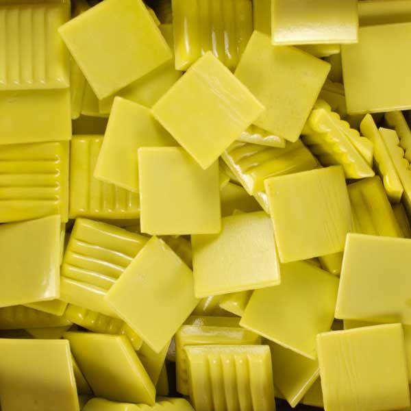 Butter vitreous glass mosaic tile Kaleidoscope brand