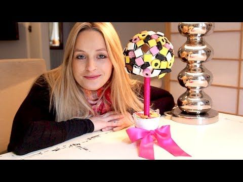 Bridedeforce show you how to make your own sweet trees, ideal for wedding table centre pieces