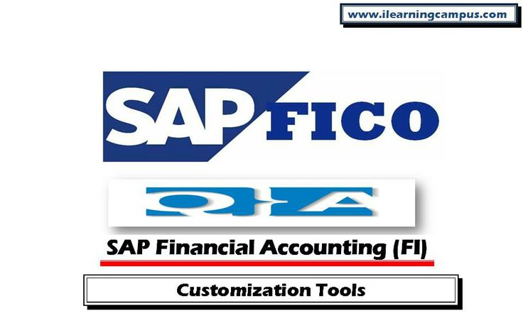 Financial Accounting (FI) Q&A - Customization Tools SAP Financial Accounting (FI) Q&A document on customization tools explain the different customization areas within the SAP, methods and configuration areas.  http://ilearningcampus.com/description.php?id=ODM5
