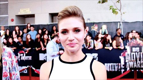 """rita volk  from the above symptoms? Don't fret.   21 Signs You're In Love With Rita Volk From MTV's """"Faking It"""""""