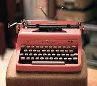 Vintage typewriter for your home office decor.