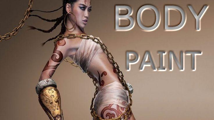 """Body Paint Body Paint  La pintura corporal,llamada tambien bodypainting , es una forma de arte corporal . A diferencia de tatuajes y otras formas de arte corporal, body painting es temporal, pintado en el ser humano de la piel , y dura sólo varias horas, o como máximo (en el caso de Mehndi o """"tatuaje de henna"""") un par de semanas."""