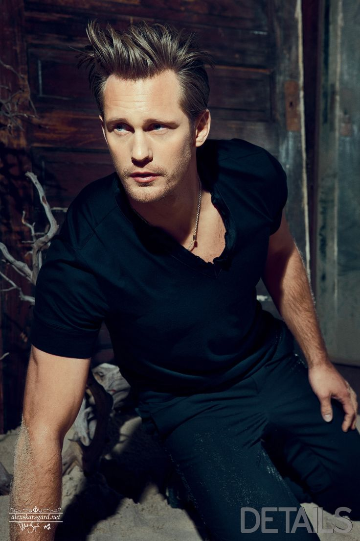 Alexander Skarsgard....like a screen door in a hurricane...BANG