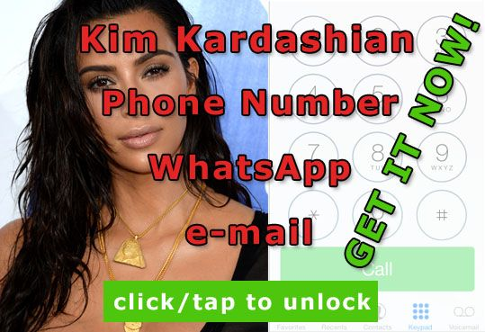 If you love Kim Kardashian and wonder what is the Kim Kardashian phone number, you just visit CelebritiesWizard and get it. On this site you can find many current cell numbers to male celebrities and female celebrities from movies, TV, singers and even YouTube stars.  http://celebritiesmovie.com/celebrities-detail/what-is-kim-kardashian-phone-number/