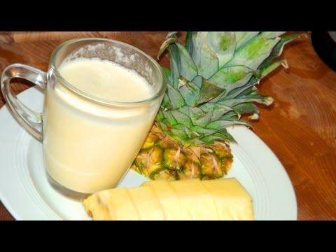 Pina Colada Cocktail ohne Alkohol - Drink Rezept von einfachKochen