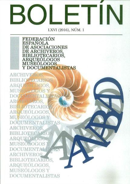 BOLETIN DE LA ANABAD CD-ROM LXVI-1