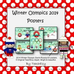 Winter Olympics Posters