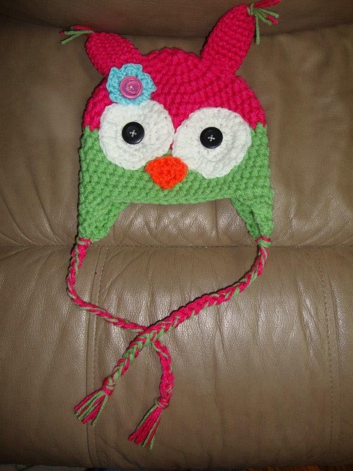 Owl hat  $15