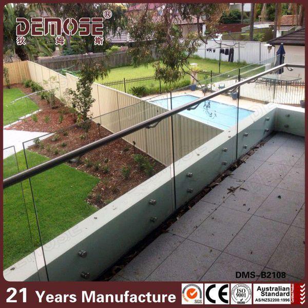 Modern Safety Balcony Railing Design