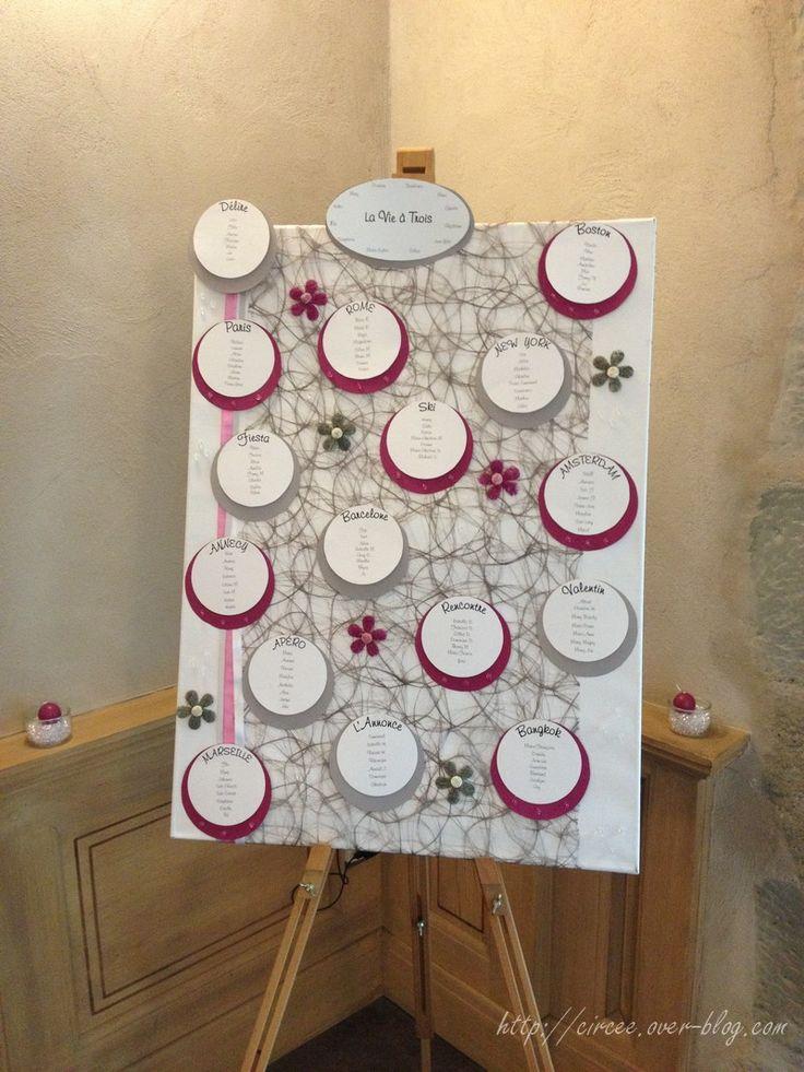 diverses dcos de mariage en rose et gris les crations de circe - Decoration De Cuisine 2015 En Rose