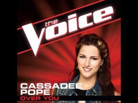 #CassadeePope - Over You (Studio Version) The Voice 2013