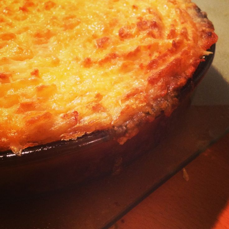 Healthy Shepherds pie from an old Scottish recipe !