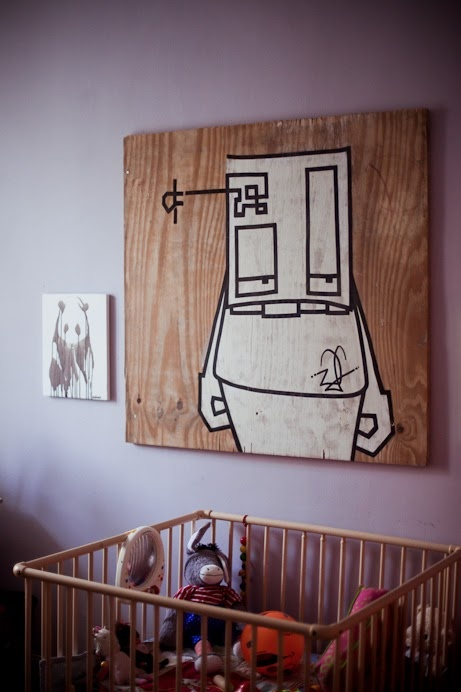 paint a design even on a wooden board
