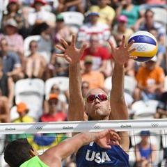 2016 Rio Olympics - Men's Beach Volleyball USA vs Mexico