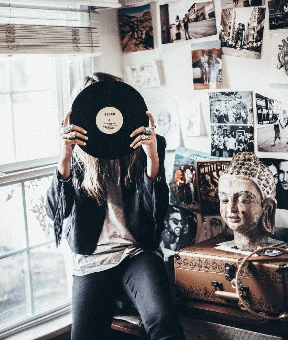 forget about the world and listen to the music you love | @andwhatelse