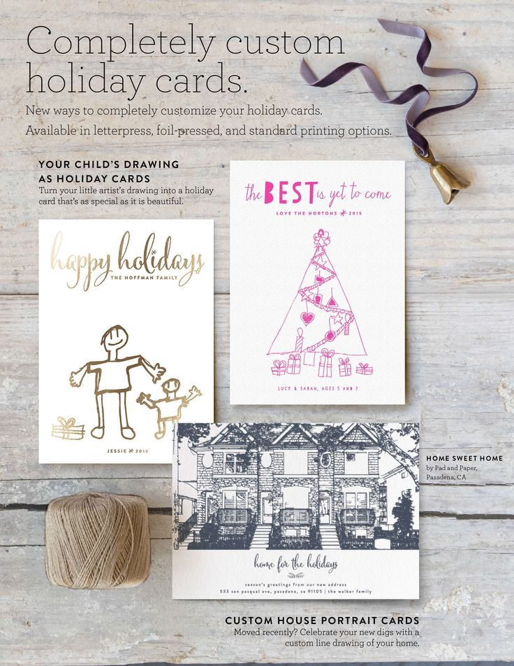 Best 25+ Custom holiday cards ideas on Pinterest | Holiday cards ...