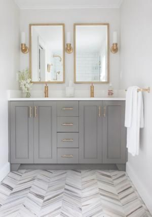 bathroom cabinets painted with benjamin moore chelsea gray