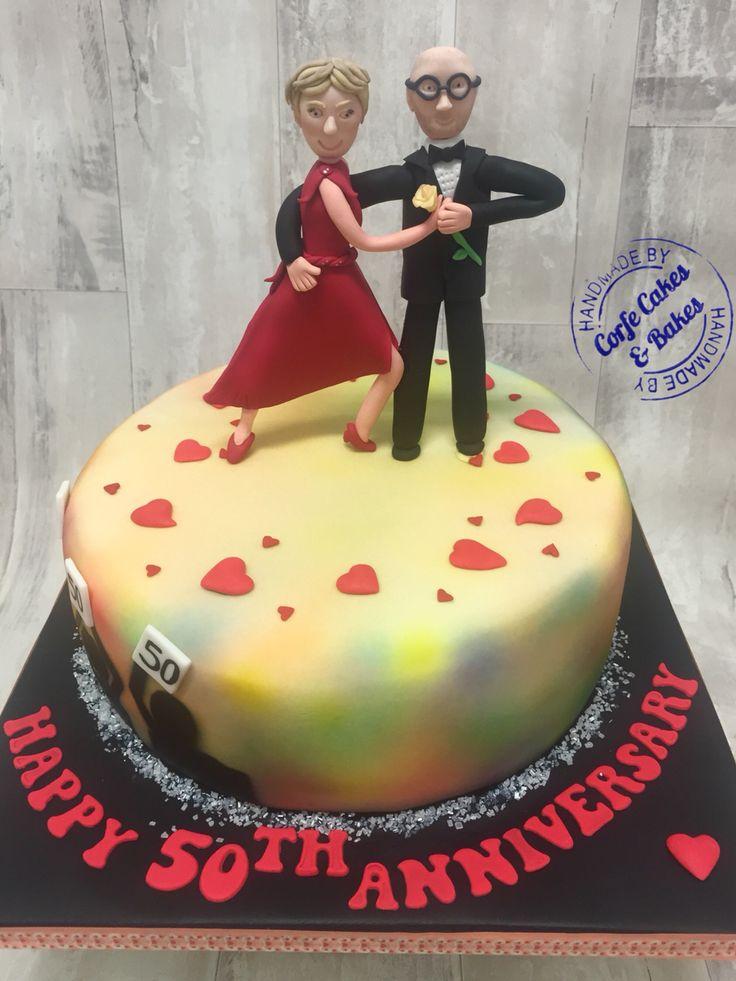 Tango Dancer Cake Toppers