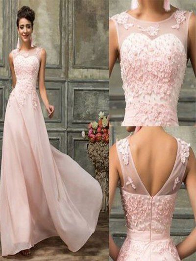 Long Prom Dress,Pink lace bridesmaid dresses, Chiffon bridesmaid dresses, Cheap bridesmaid dress,elegant prom dress,bridesmaid dressPD210148