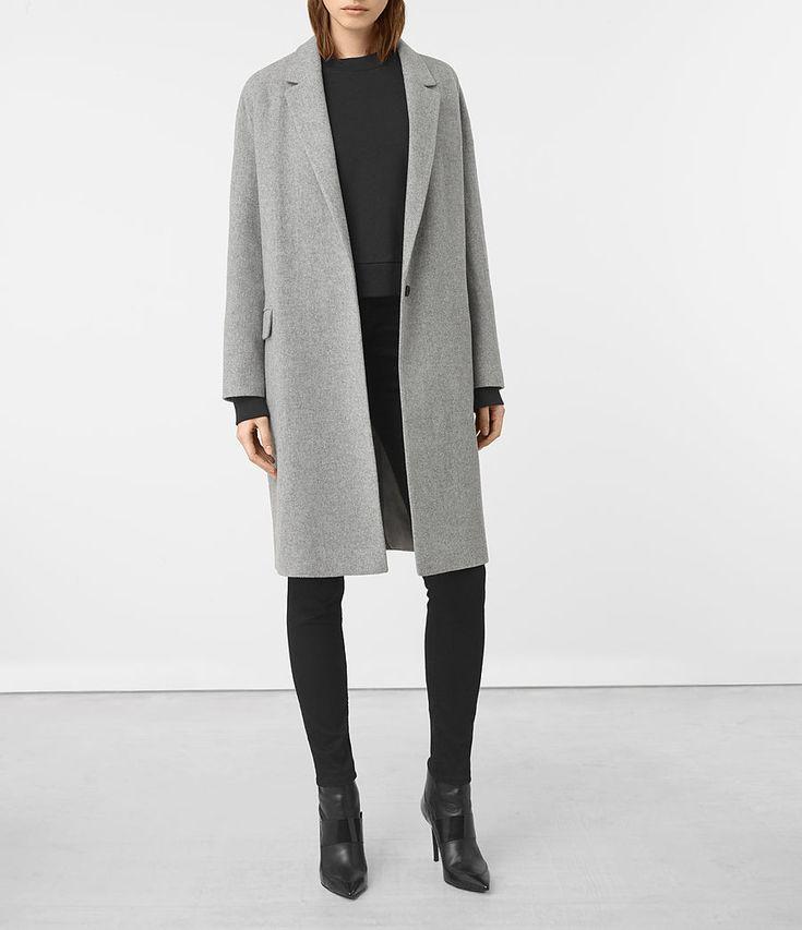 Women's Sancia Lotto Coat (Grey) -
