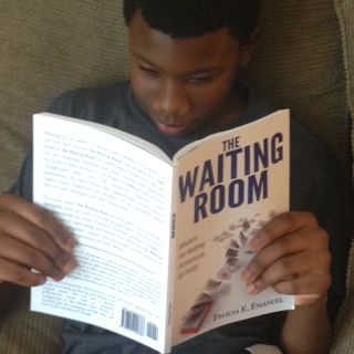 Look Who's Reading The Waiting Room!