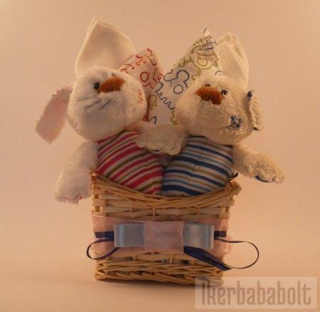 Ajándékcsomag ikreknek www.ikerbababolt.hu