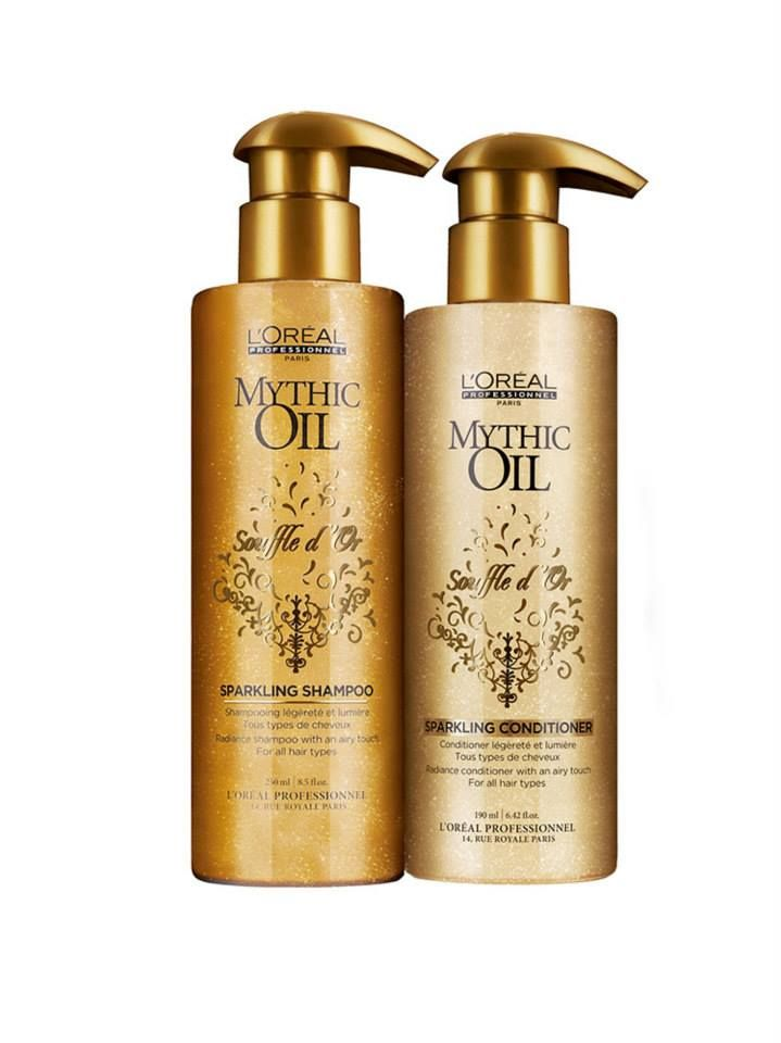 L'Oreal  Mythic Oil New Souffled-Shampoo and Conditioner