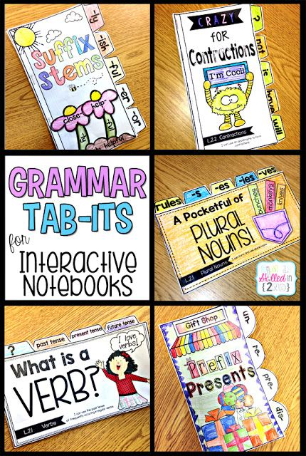 Grammar FUN for Interactive Notebooks #teaching #second