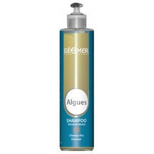 Shampooing reminéralisant aux algues et aux huiles essentielles. Spécifique cheveux fins, secs et déminéralisés. Spécial pour cheveux fins sans volume. Evite les lavages trop fréquents et rends les cheveux légers et souples
