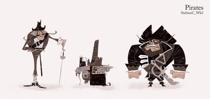 tark art blog: CGMA Character Design Classes with Nate Wragg