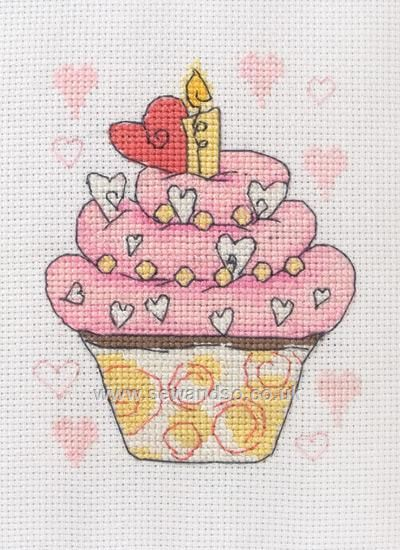 Shop online for Birthday Cupcake Cross Stitch Kit at sewandso.co.uk. Browse our great range of cross stitch and needlecraft products, in stock, with great prices and fast delivery.