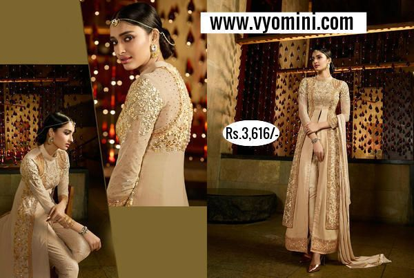 #VYOMINI - #FashionForTheBeautifulIndianGirl #MakeInIndia #OnlineShopping #Discounts #Women #Style #EthnicWear #OOTD #Onlinestores Only Rs 4035/-, get Rs 419/- #CashBack,  ☎+91-9810188757 / +91-9811438585.....#AliaBhatt