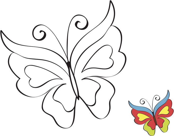 Dibujos De Mariposas Para Colorear E Imprimir: This Beautiful Butterfly Art Will Simply Make Your Heart