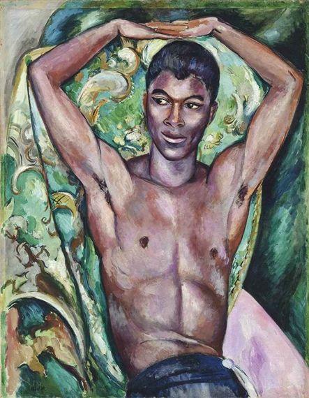 Edward Wolfe - Portrait of Pat Nelson, oil on canvas