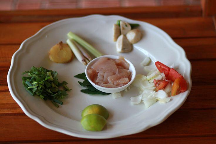 Как приготовить суп Том Кха Кай