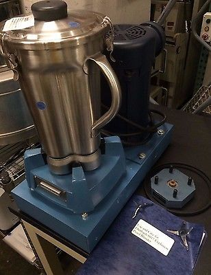 EBERBACH Laboratory Explosion Proof Single Speed Lab Mixer Blender 8017.