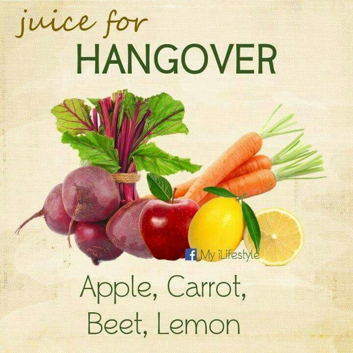 Homemade Juice Therapy: Hangover