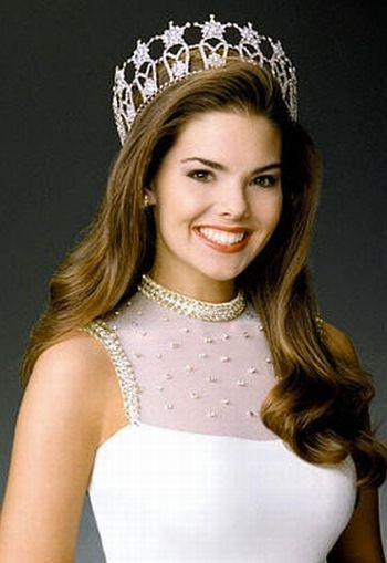 miss usa 1999 � kimberly pressler from new york crowned