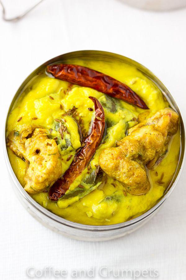 Dahi Ki Kadhi   Yoghurt Curry with Cauliflower Fritters #NanakDahi #delicious #healthy #Dahi #Curd #foodie
