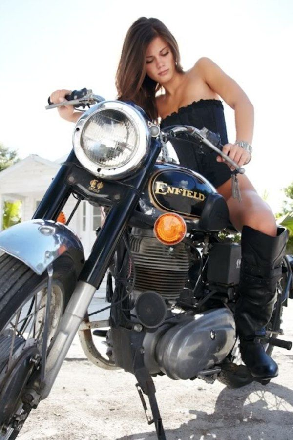 Straddle 2 Wheels Tonight With These Motorcycle Girls 87 Photos