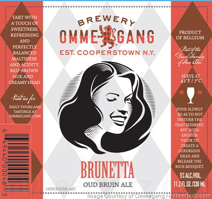 mybeerbuzz.com - Bringing Good Beers & Good People Together...: Ommegang & Liefmans Collaborate On Brunetta Oud Br...