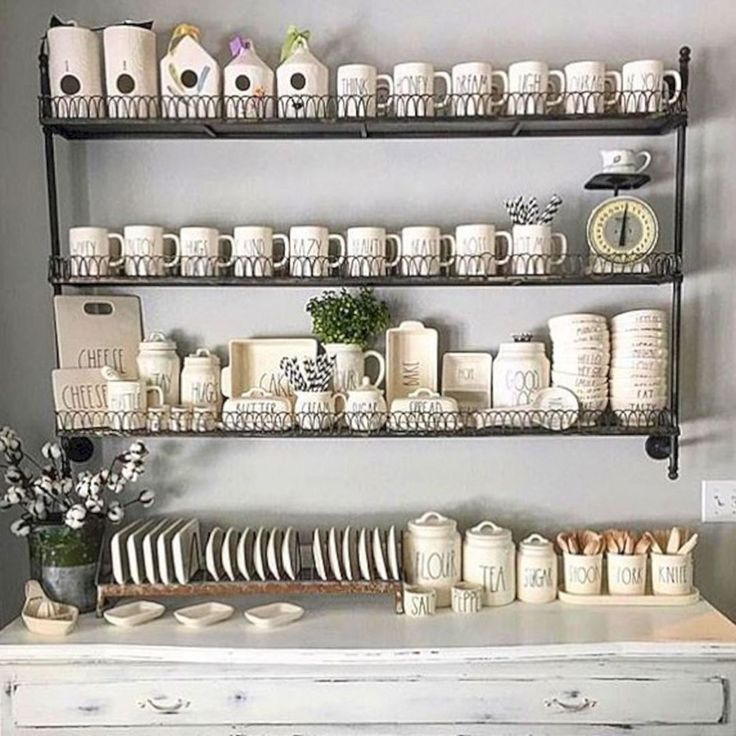 39 Best Rae Dunn Display Ideas Images On Pinterest