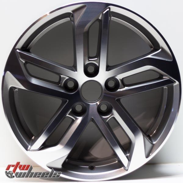 """18"""" Chevy Equinox oem replica wheels 2016-2017  for rims 5757 - https://www.rtwwheels.com/store/shop/18-chevy-equinox-oem-replica-wheels-for-sale-rims-aly05757u35n/"""