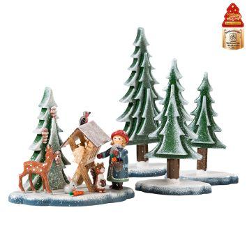 Weihnachtswelt Set, Futter für die Tiere