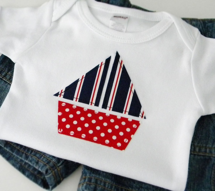 Newborn Baby Boy Clothes Size 0 3 months Red and Navy