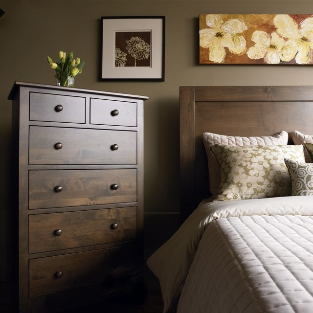 Modern Country Interiors - Sinclair Bedroom Furniture. Canadian Made Solid  Wood Furniture.