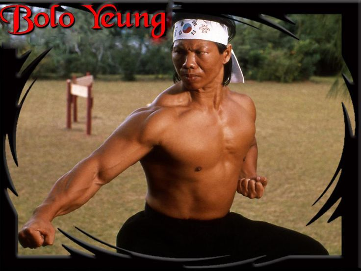 Yang Sze (; born July 3, 1946 in Guangzhou), better known as Bolo Yeung, is a former competitive bodybuilder and a martial arts film actor. Description from pixgood.com. I searched for this on bing.com/images